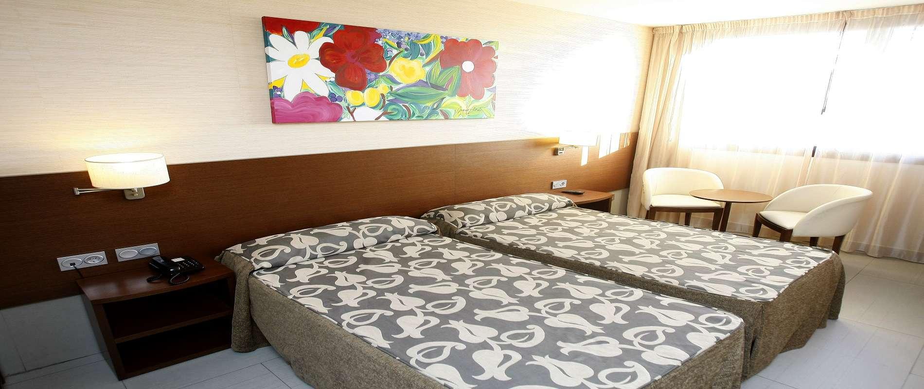 Hotel spa real ciudad zaragoza habitaciones for Habitaciones zaragoza