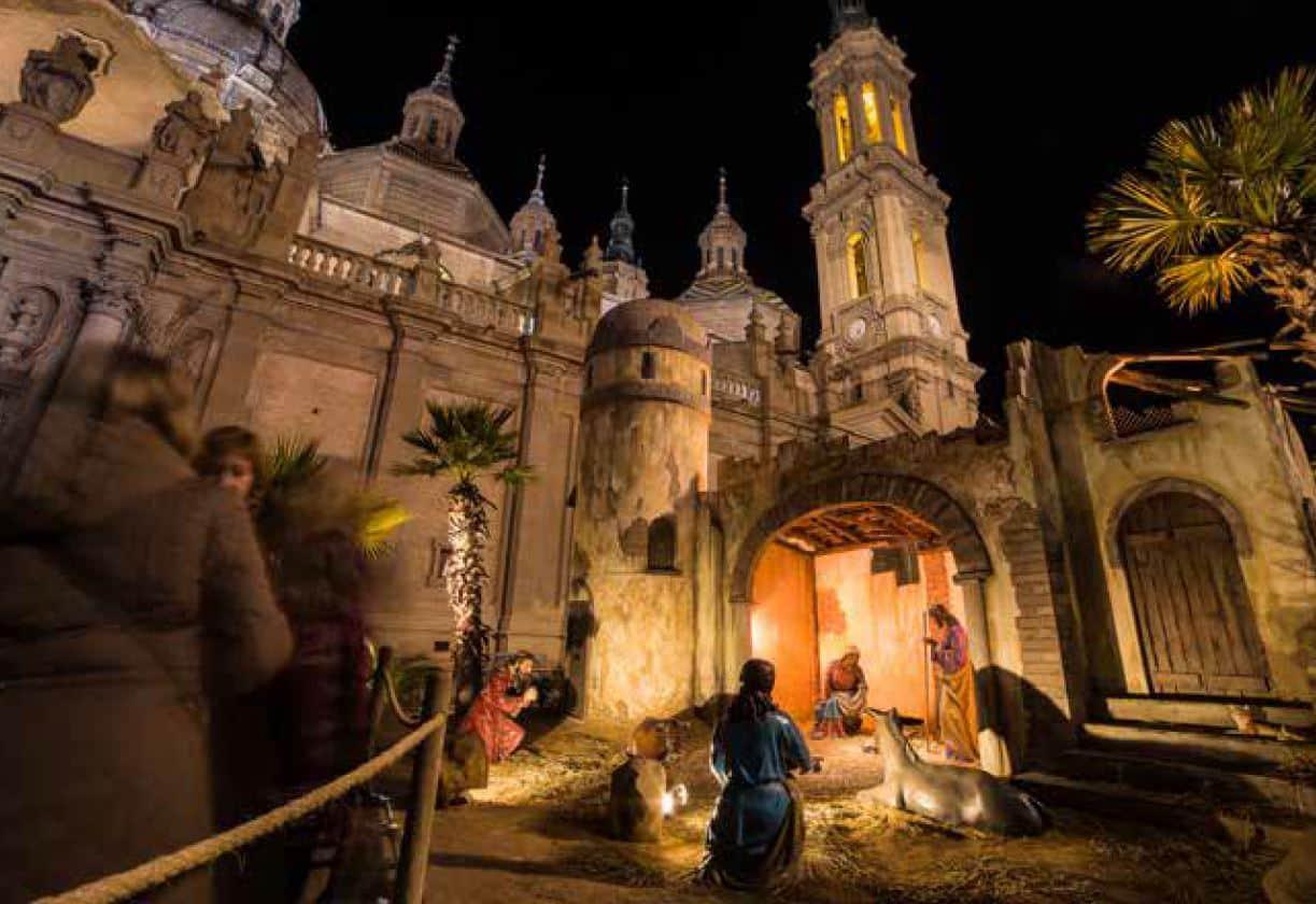 Planes de navidad en Zaragoza